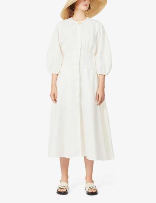 Le Kasha Helwan linen dress