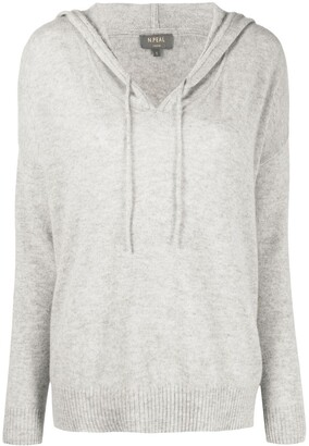 N.Peal Hooded Cashmere Jumper