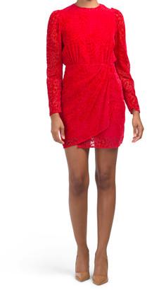 Artichoke Velvet Dress