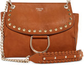 GUESS Fynn Small Flap Crossbody with Chain Strap
