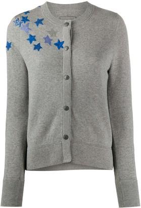 Zadig & Voltaire Embellished Star Cardigan