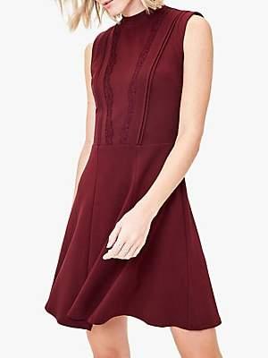 Oasis Lace Trim Sleeveless Dress