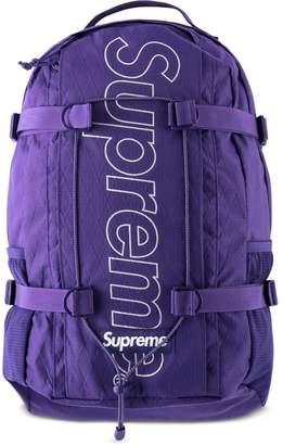 Supreme logo print backpack