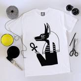 Art Disco Jackal Print Unisex T Shirt