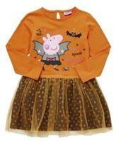 Character F&F Peppa Pig Tutu Halloween Dress, Girl's