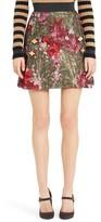 Dolce & Gabbana Women's Metallic Jacquard Miniskirt