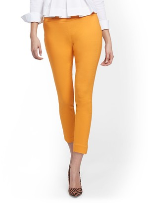 New York & Co. Whitney High-Waisted Pull-On Ankle Pant