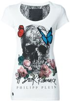 Philipp Plein butterfly skull T-shirt