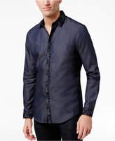 INC International Concepts Men's Paisley Trim Shirt, Only at Macy's