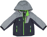 London Fog Navy Color Block Puffer Coat - Toddler & Boys