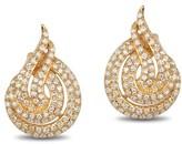 Effy Jewelry Effy D'Oro 14K Yellow Gold Diamond Earrings, 0.67 TCW