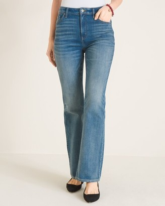 Chico's High-Rise Slim Boot-Cut Jeans