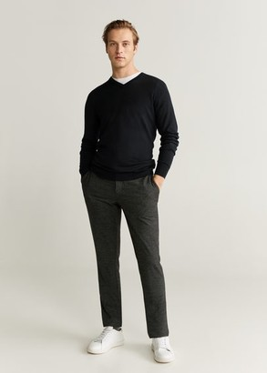 MANGO 100% Merino Wool Washable Sweater