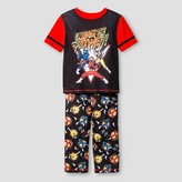 Power Rangers Boys' Pajama Set - Black
