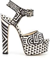 Brian Atwood platform sandals