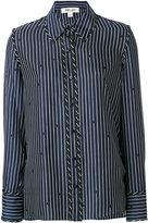 Dvf Diane Von Furstenberg striped and polka dot shirt