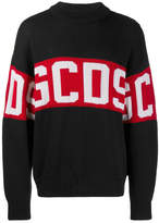 Gcds Logo Crewneck Sweater
