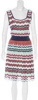 M Missoni Patterned Midi Dress