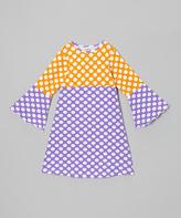 Flap Happy Grape Punch Polka Dot Hippie Dress - Infant, Toddler & Girls