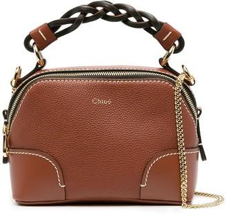 Chloé mini Daria tote bag