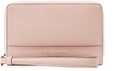 Marc Jacobs Women's Saffiano Phone Wristlet Long Wallet