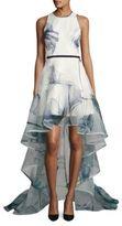 Nha Khanh Kaira Tiered Ruffle Gown
