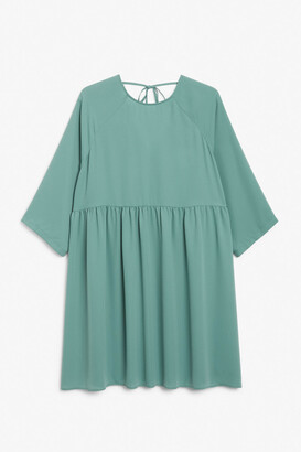 Monki Oversized smock dress
