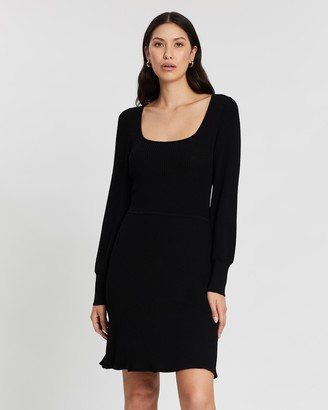 Banana Republic Square Neck Sweater Dress