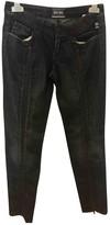 Jean Paul Gaultier Blue Cotton Trousers
