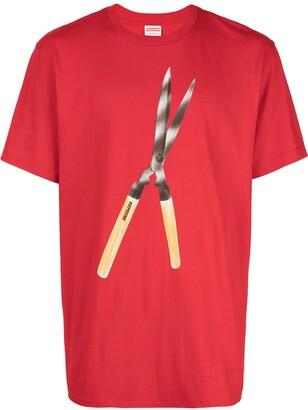 Supreme shears print T-shirt