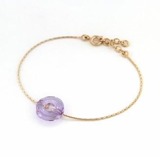 Bijoux pour tous Bracelet Set Gold-Plated with Crystal - 4202052 VL - 19 cm