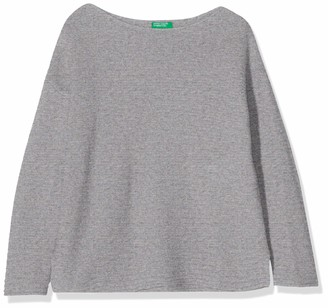 Benetton Girl's Basic G4 Long Sleeve Top