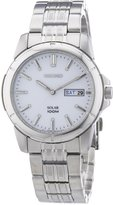 Seiko Men's SNE091 Solar Dial Watch