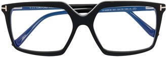 Tom Ford Square-Frame Clear-Lens Glasses