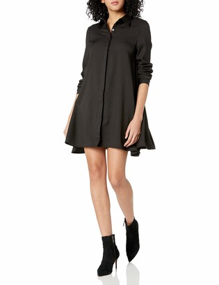 Glamorous Women's Long Sleeve Shirt Dress