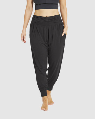 Dharma Bums - Women's Black Pants - Asha Relax Pants - Size One Size, XS at The Iconic
