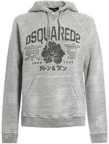 DSQUARED2 Hooded Japan Flower Sweater