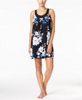 Alfani U-Neck Printed Chemise, Only at Macy's