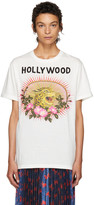 Gucci White 'Hollywood' T-Shirt
