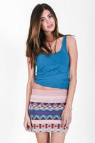 Goddis Kana Mini Skirt In Sunny Isles