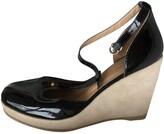 APC black Patent leather Sandals