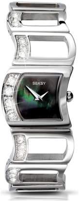 Swarovski Seksy By Sekonda Seksy Ladies' Stainless Steel 4009 Crystal Watch