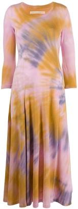 Raquel Allegra Tie-Dye Sweater Dress