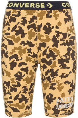 Converse X Faith Connexion camouflage bicycle shorts