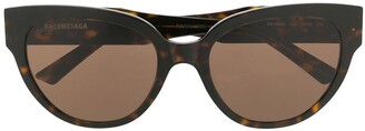 Balenciaga Eyewear Cat-Eye Shaped Sunglasses