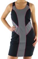 Ryka Women's Block Dress - Black/Steel Grey/Zuma Pink Dresses