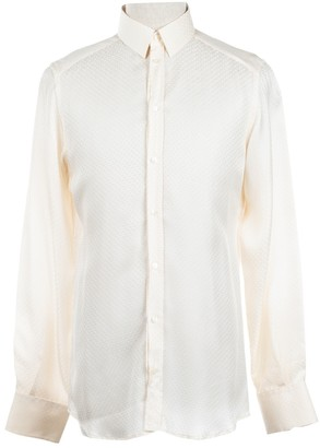 Dolce & Gabbana White Silk Shirts