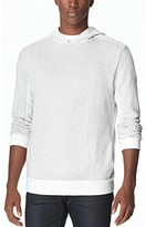 Calvin Klein Jeans Men's Reverse Side Piecing Fleece Hoodie