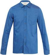 Nudie Jeans Henry Indigo Herringbone Casual Shirt