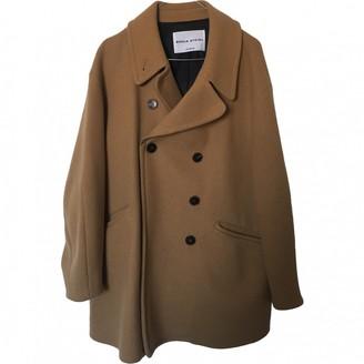 Sonia Rykiel Beige Wool Coat for Women